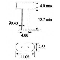 Kondensator polipropylenowy MKT 373 pojemność 680nF 400V~
