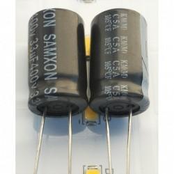33uF 400V 12x20 105°C Samxon