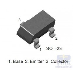 Tranzystor  BC857B SMD  kod...