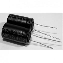 22uF 400V 12,5x20 105°C Samxon