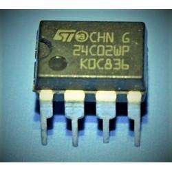 EEPROM 24C02WP 2K (256 x 8)