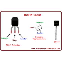 Tranzystor BC107 CEMI